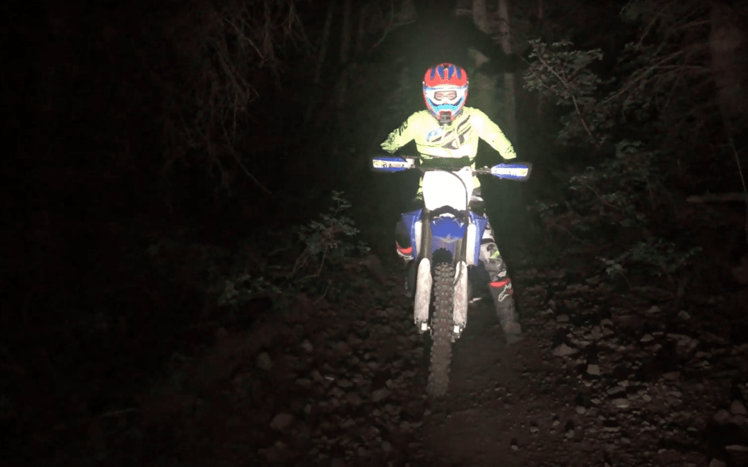 Best Dirt bike Helmet Lights and Kits for Riding at Night