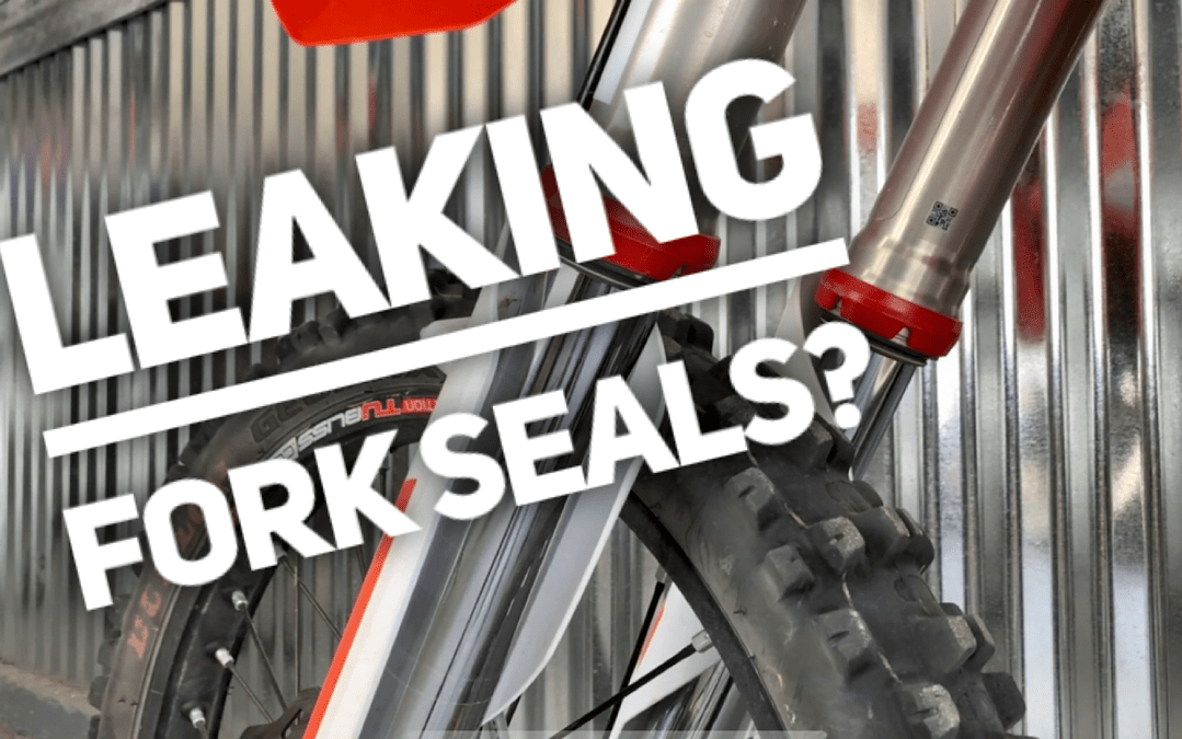 How to fix leaky fork seals