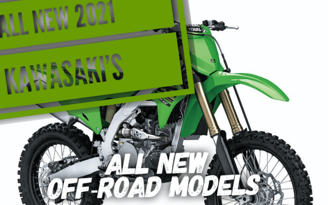 ALL NEW 2021 dirt bikes from Kawasaki