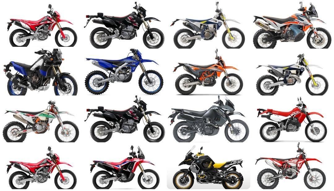 Best dual sport street legal dirt bikes