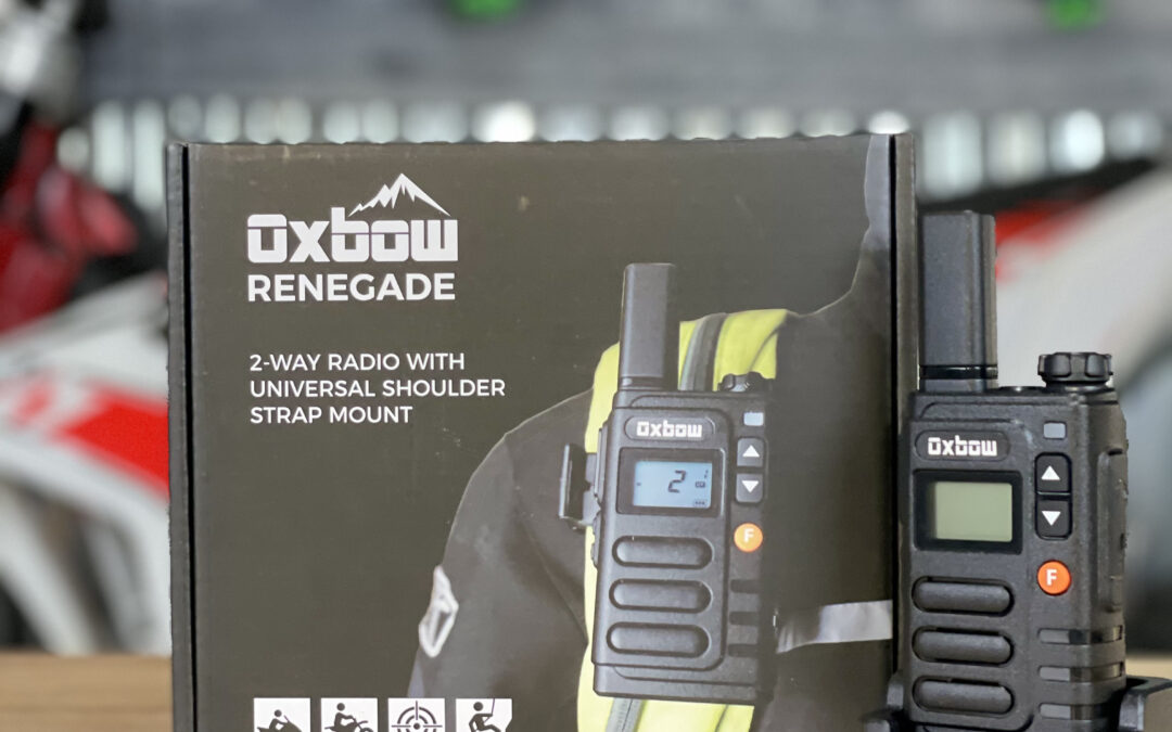 Oxbow Renegade Two-Way Radio for Dirt Bikers