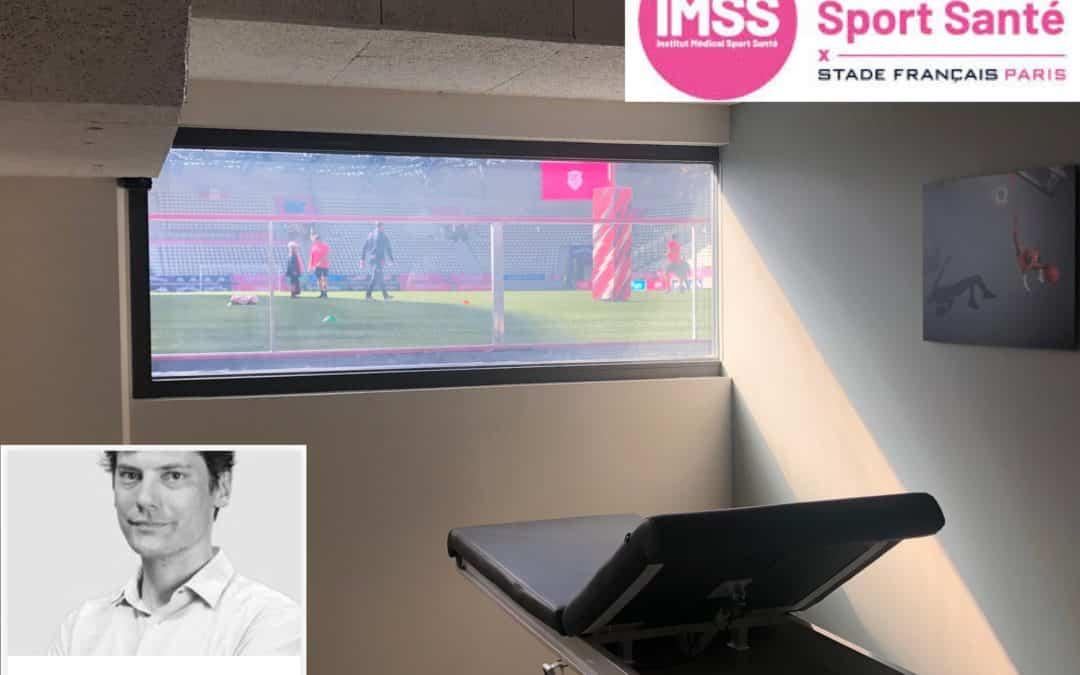 Ouverture du centre médical de l'IMSS du Stade Français. Faites vous soigner comme des pros à Jean Bouin.