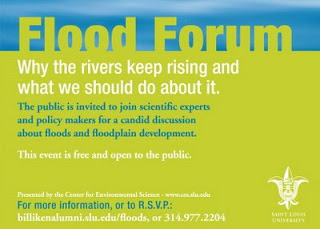 St. Louis flood forum Nov. 11.