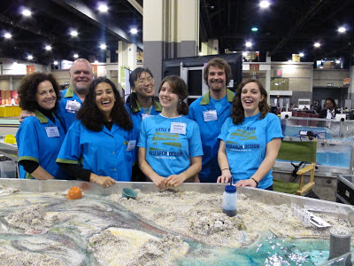 Last day and happy loading, GSA 2012
