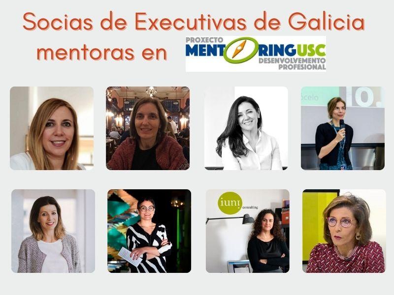 Socias de Executivas de Galicia participan como mentoras en el proyecto MENTORING de la USC