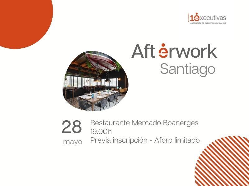 Afterwork en Santiago 28 de maio