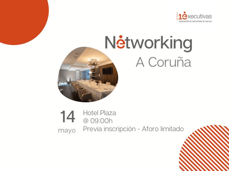 Desayuno Networking en A Coruña 14 de mayo