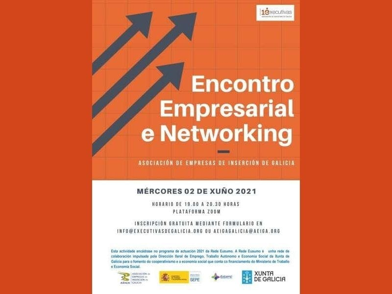 Encontro Empresarial de Executivas de Galicia e AEIGA, modalidade online