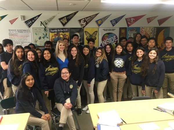 Giving Back – My High School Visit via Youth Business Alliance