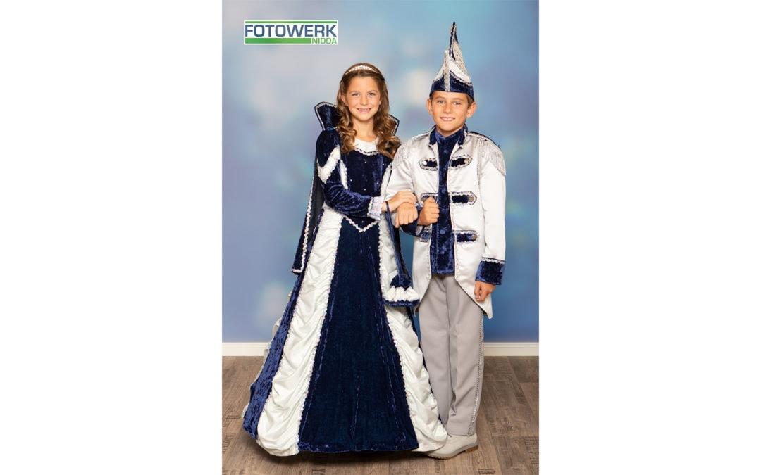 Das neue Junior Prinzenpaar von Nidda