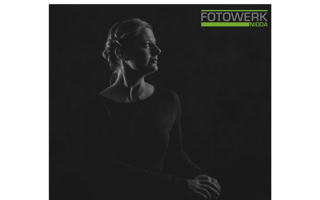 Schwarzweiß Portrait Fotografie