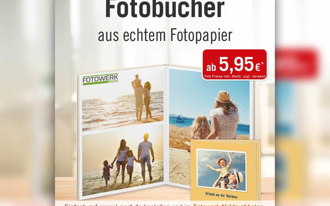 Fotobücher jetzt online gestalten