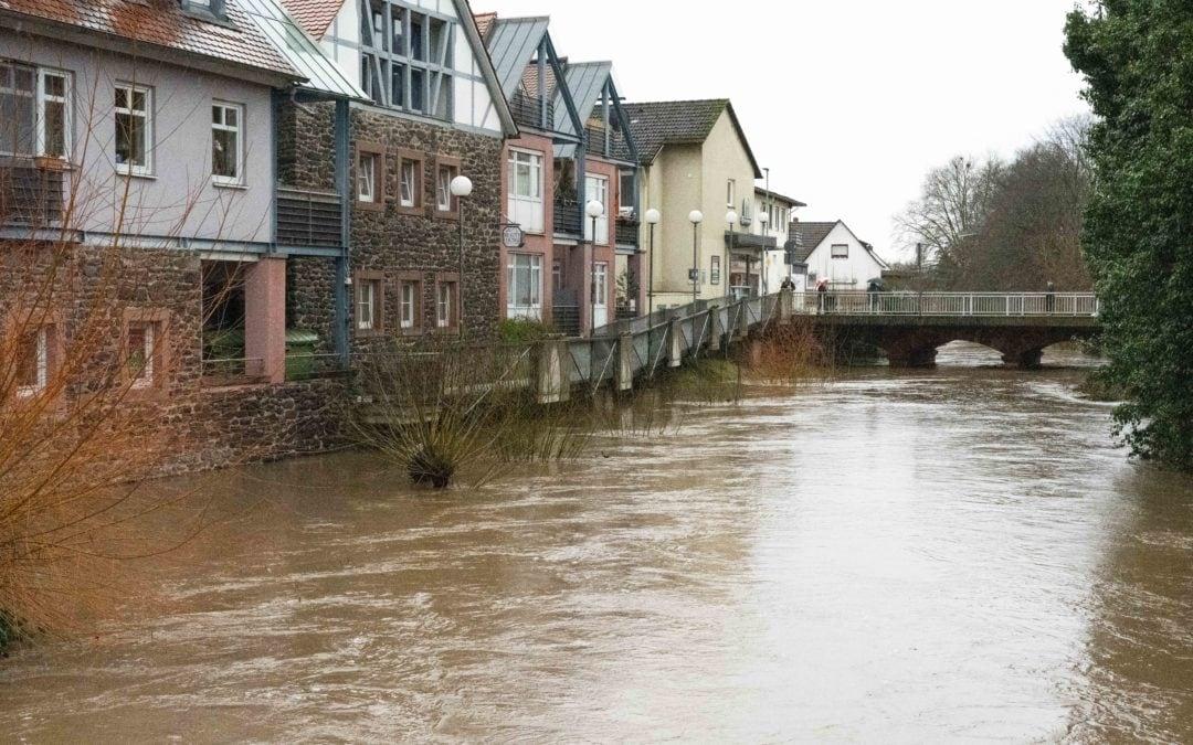 Hochwasser in Nidda