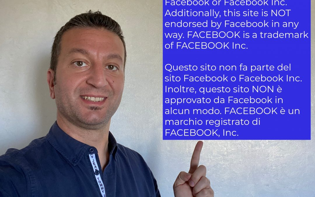 Disclaimer di Facebook nelle Landing Page