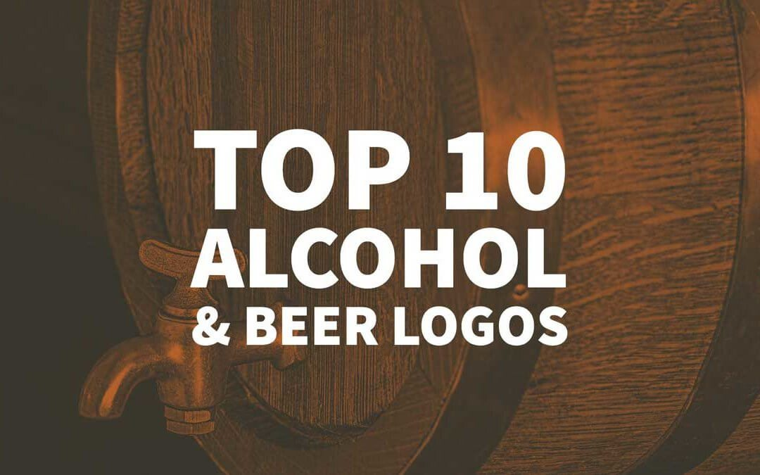 Top 10 Alcohol & Beer Logos