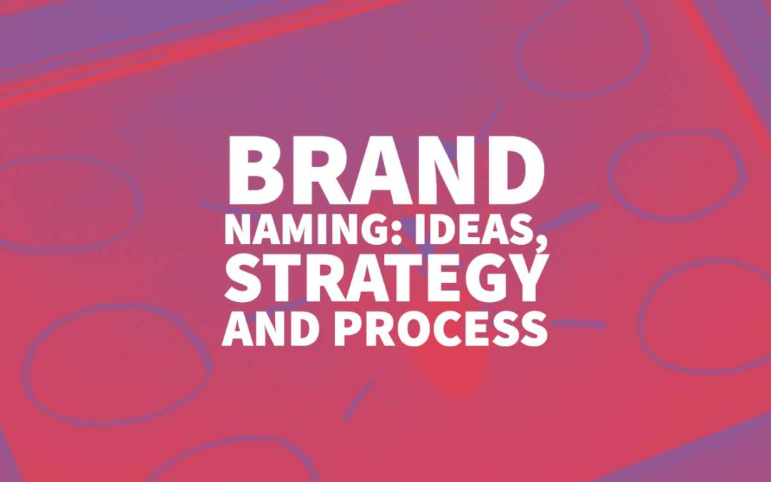 Brand Naming: Ideas, Strategy and Process