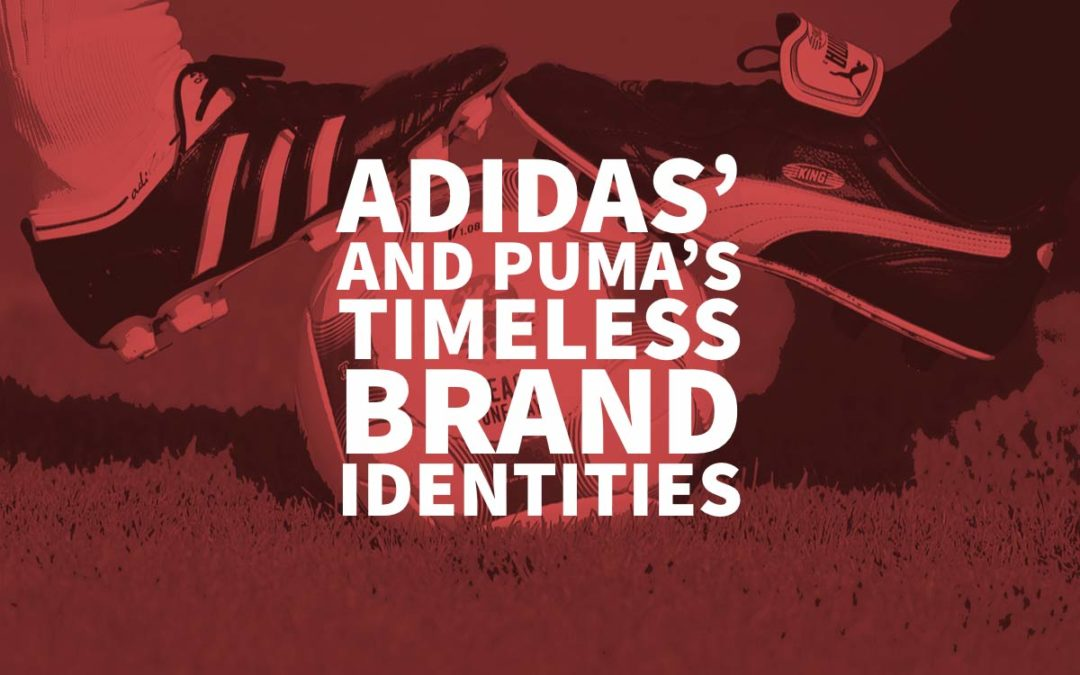 97148cee56ef Adidas  and Puma s Timeless Brand Identities - Logo Design History