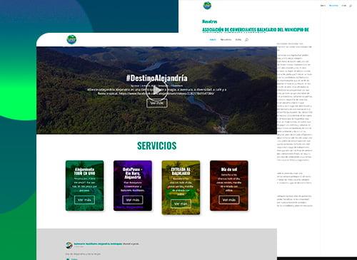 Sitio web para ASOCOBAL