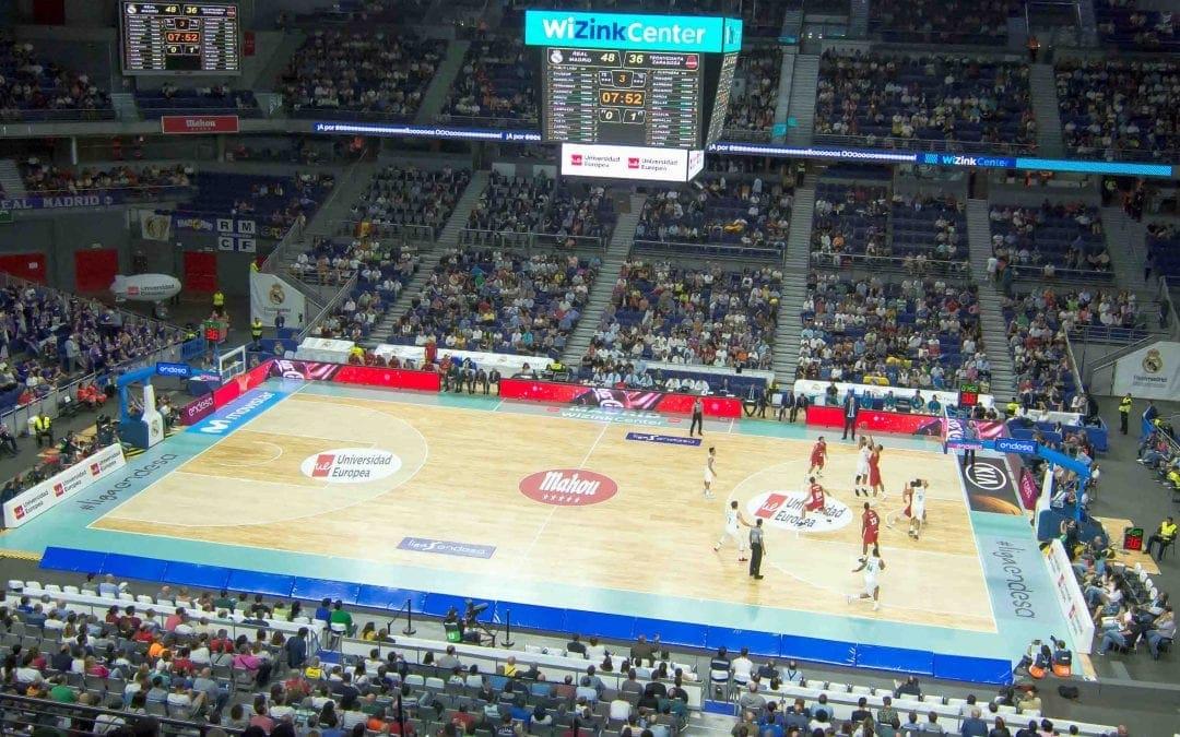 Palacio de los Deportes, Madrid