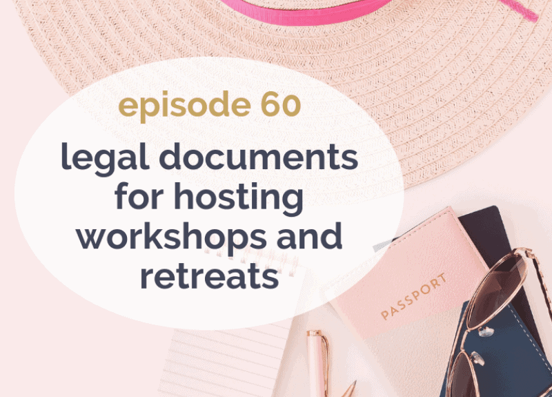 What legal docs do you need for workshops and retreats?