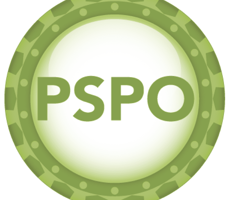 UpcomingProfessional Scrum Product Owner (PSPO)
