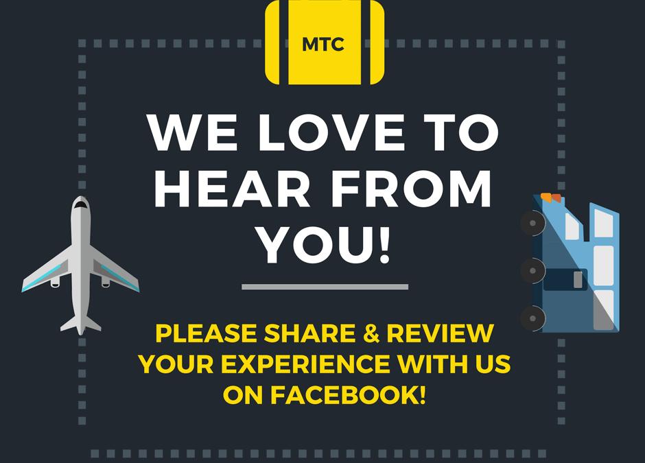 Med Transport Center on Social Media