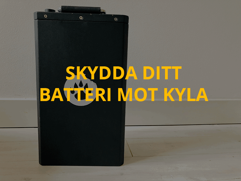 Guide: Skydda elmopedens batteri mot kyla – förläng livstiden  under vintern