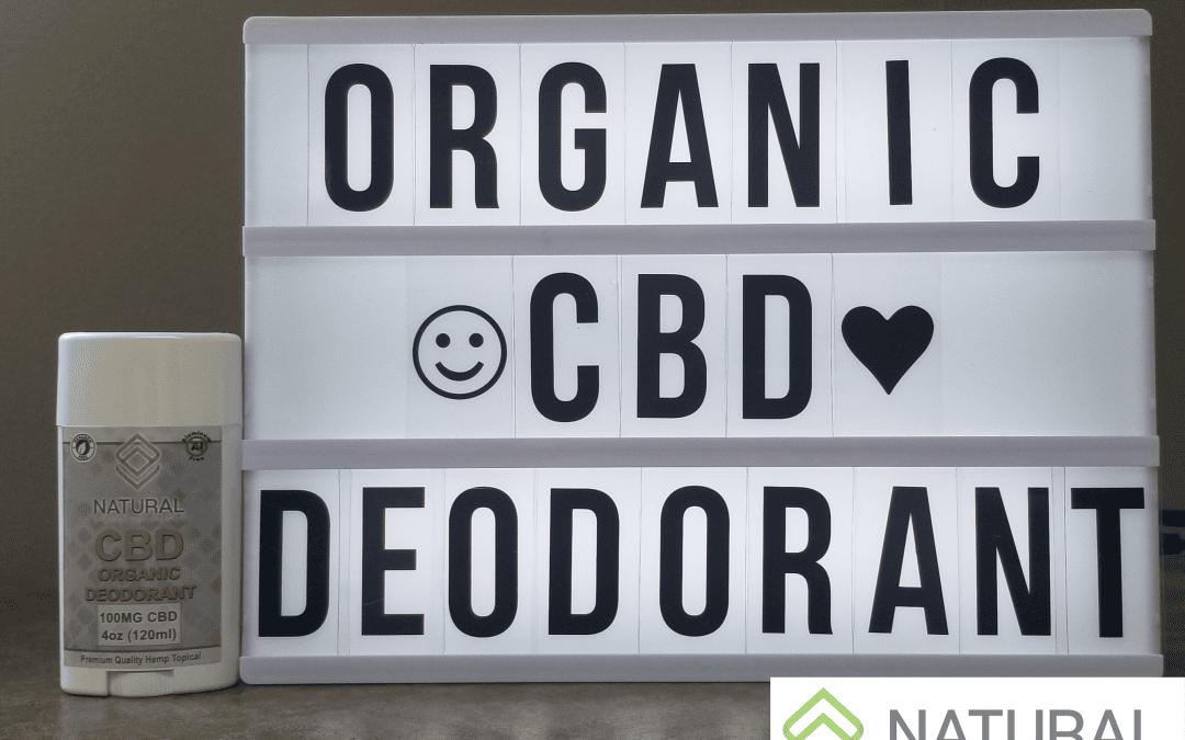 Organic CBD Deodorant