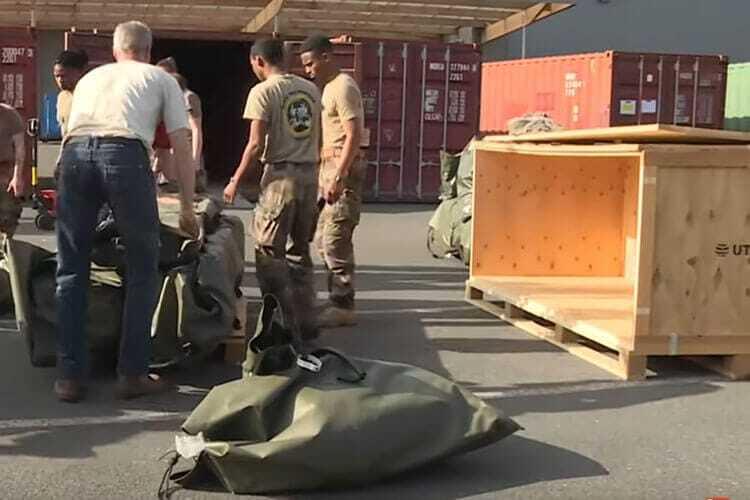 Nous fabriquons des caisses pour le secteur humanitaire - NO-NAIL BOXES