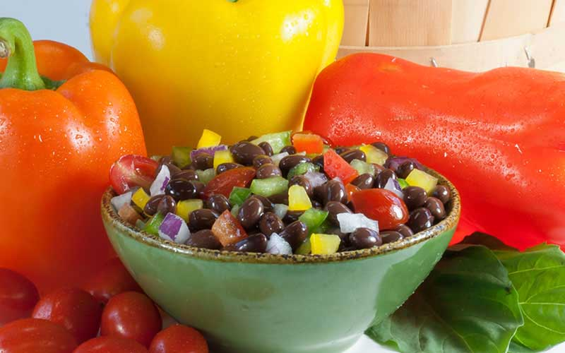 Italian Black Bean Salad