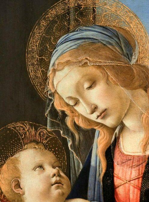 Pintura religiosa antigua: Simbología