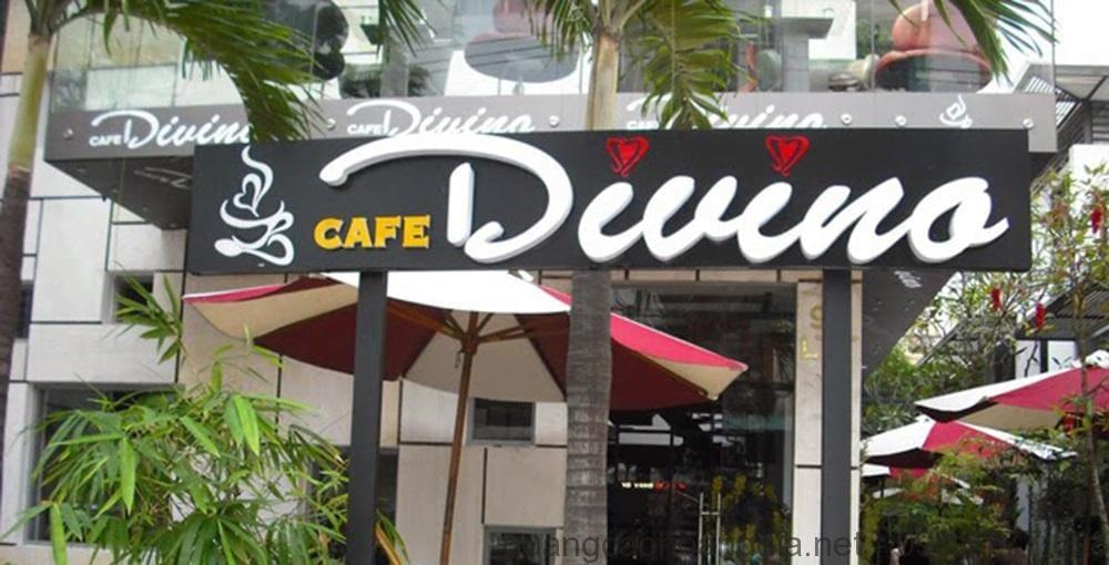 Thiết kế bảng hiệu quán cà phê đẹp, giá rẻ