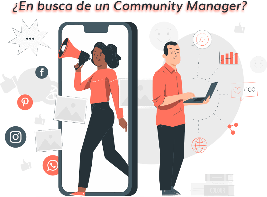 COMMUNITY MANAGER, SE BUSCA