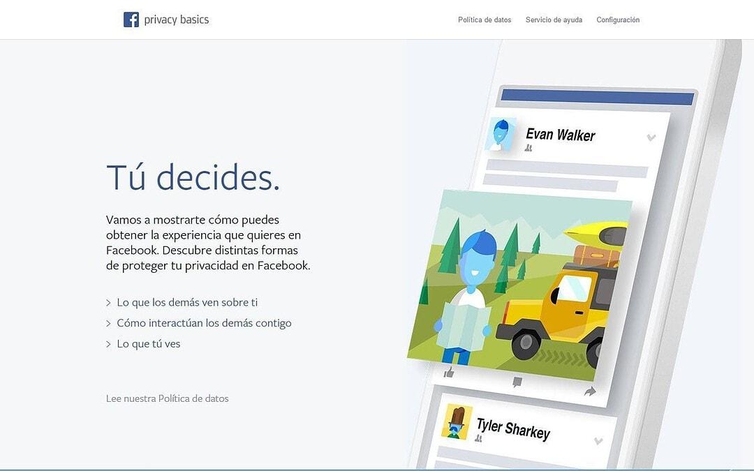 ACTUALIZACIÓN CONDICIONES Y POLÍTICA DE FACEBOOK.