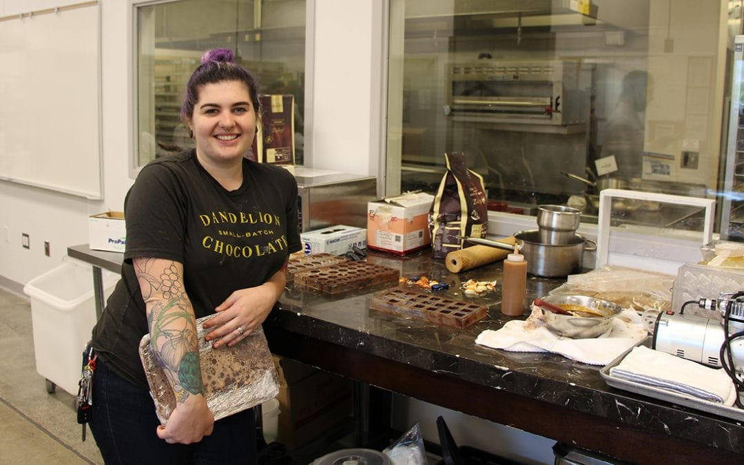Pastry Arts Alum Explores Creativity with Chocolate