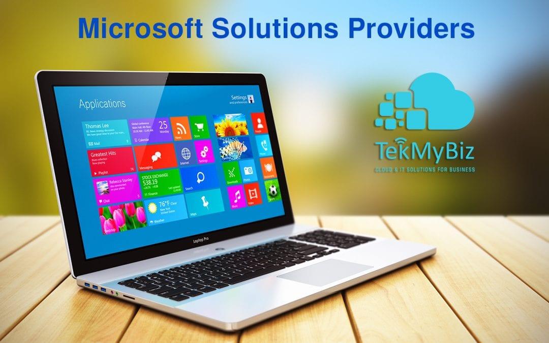 5 Reasons TekMyBiz Should Be Your Microsoft Certified Partner