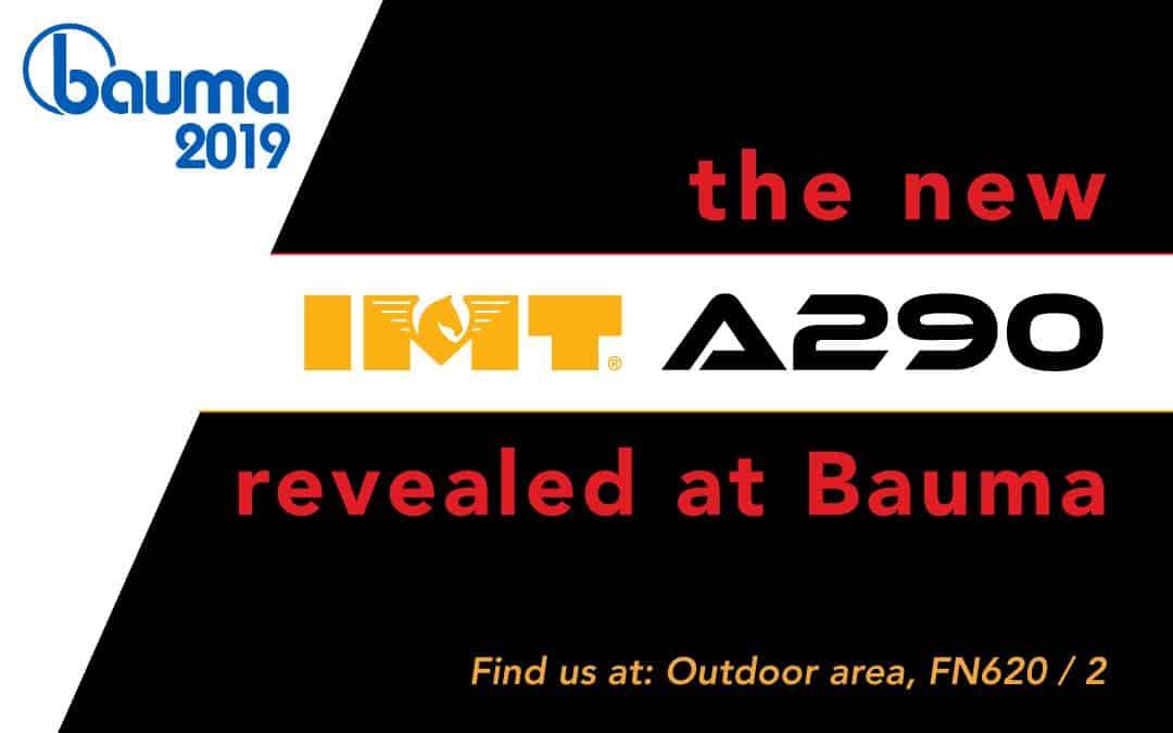 IMT A290 revealed at Bauma 2019