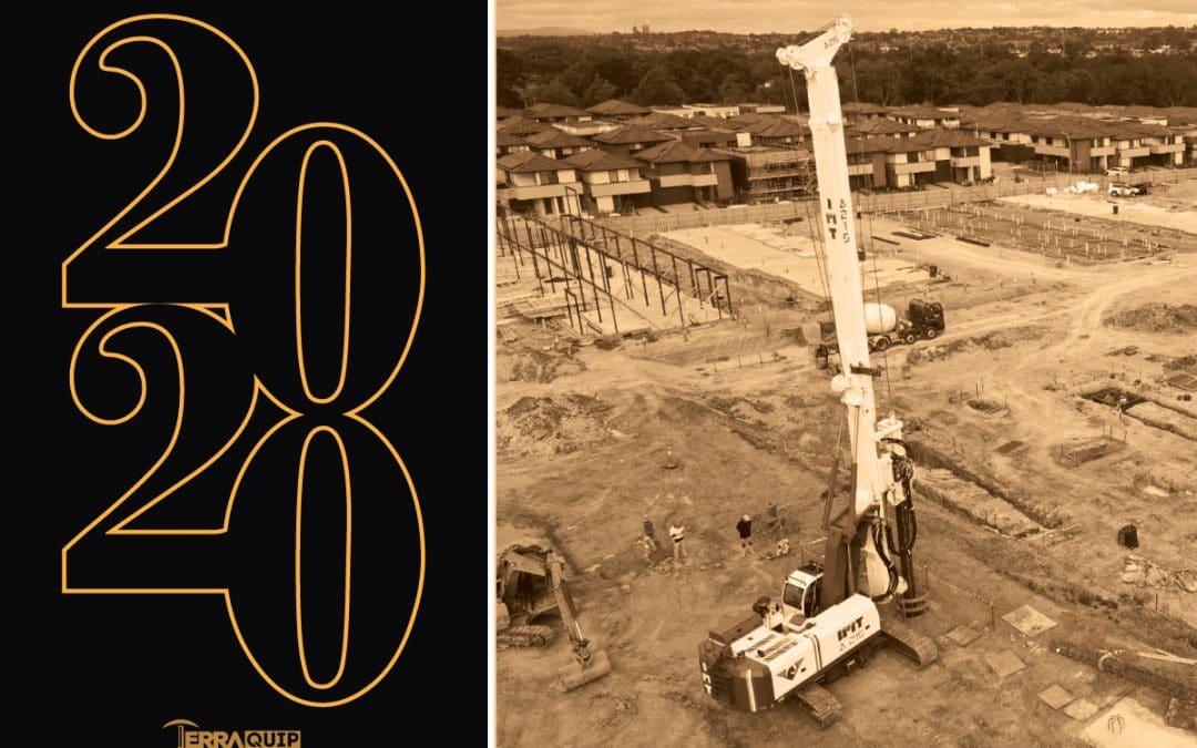 TerraQuip Drilling Equipment, year in retrospect, piling rigs, IMT piling rigs, piling rigs australia, piling rigs sydney, piling rigs melbourne, piling rigs adelaide, piling rigs queensland, piling rigs brisbane