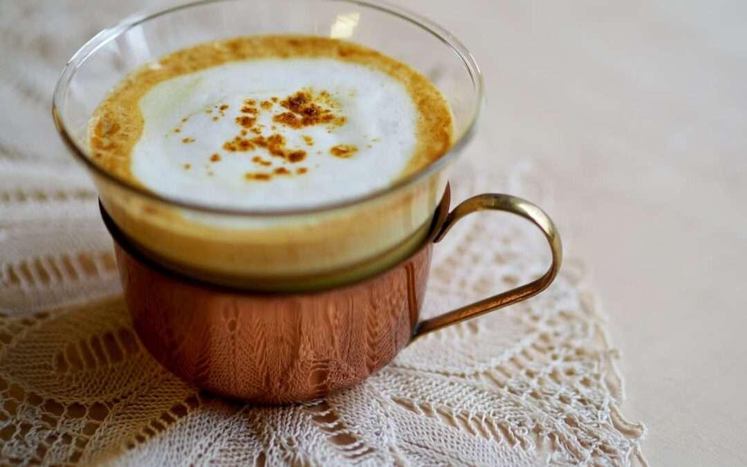 3 pasos para preparar un delicioso Cúrcuma Latte
