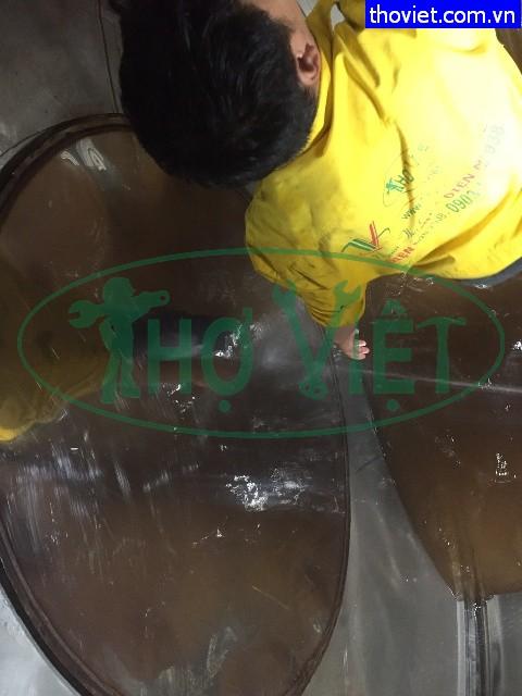 Vệ sinh bồn nước inox quận 11