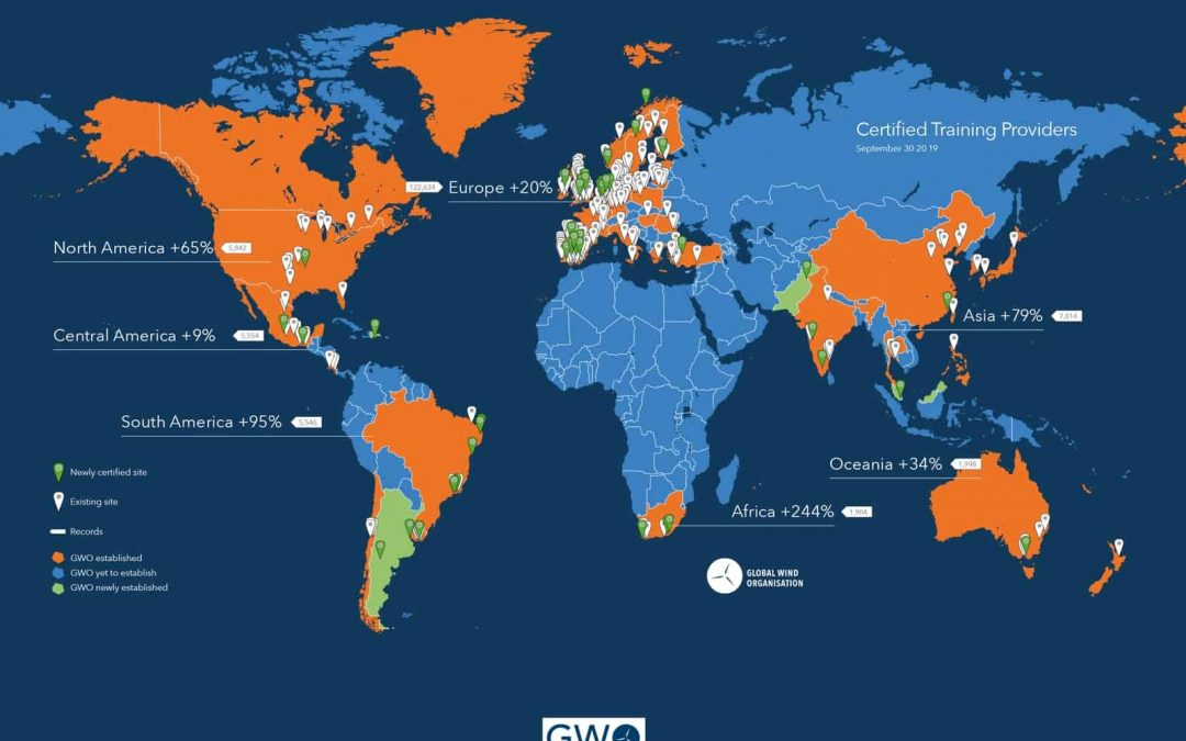 America and Asia head GWO growth in Q3 2019