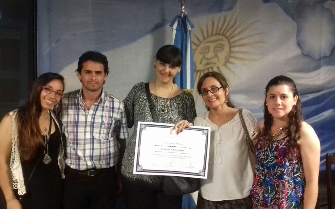 Award of Excellence goes to our Partner, Fundación GAVINA