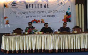 Unit Pengembangan Bahasa mengadakan Language Ambassadors Of UIN STS Jambi