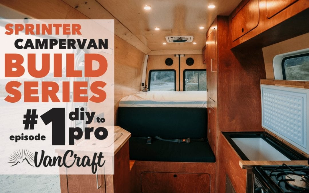 VanCraft Sprinter Van Build Series #1: Exterior Upgrades – Windows, Solar, Awning