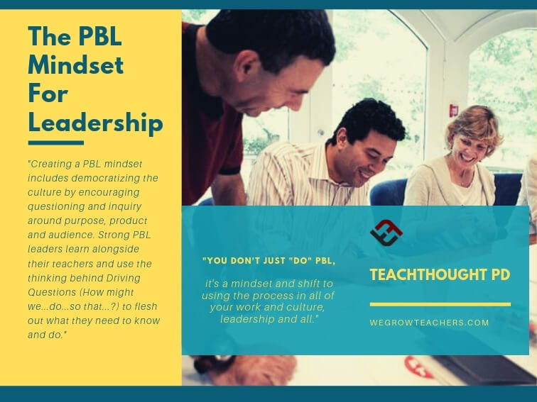 The PBL Mindset For Leadership