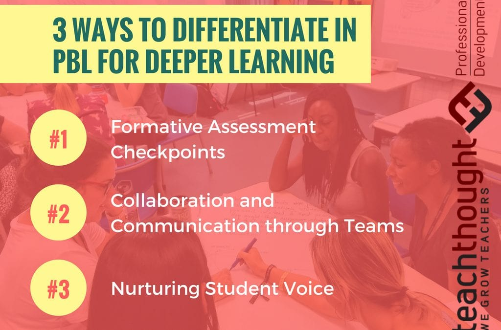 3 Ways To Differentiate In Project-Based Learning