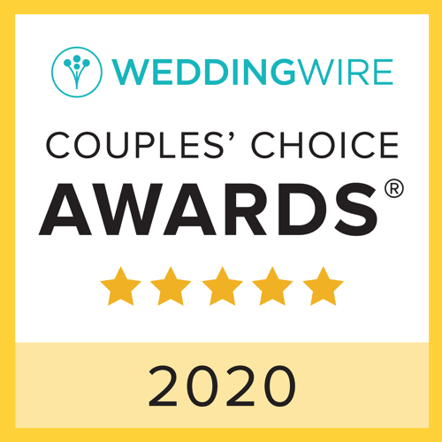 Wilmington Uplighting Named Winner in 2020 WeddingWire Couples' Choice Awards®