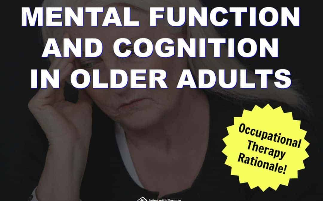 Mental Function in Older Adults with Dementia | Buffalo Occupational Therapy