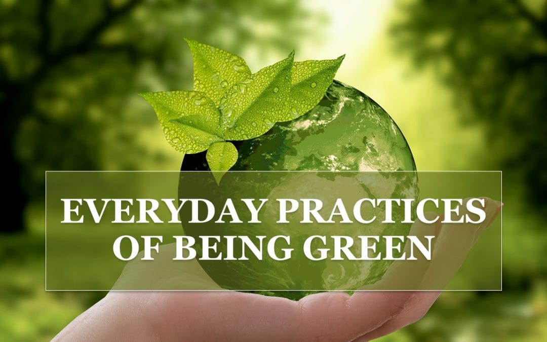 Every Day Practices of Being Green