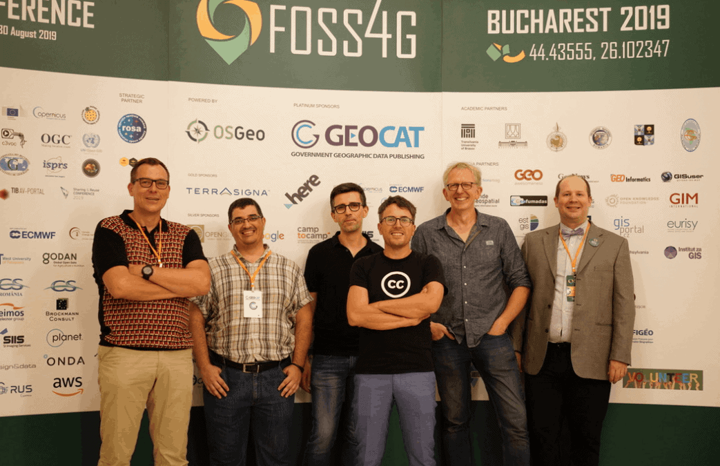foss4g 2019 bucharest geocat team